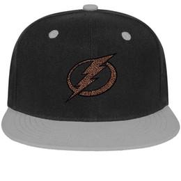 Cotton Bay Australia - Tampa Bay Lightning Leopard series Unisex Mens Hat Womens Hats Trendy Cotton Snapback Flatbrim Top Hats Ball Cap for Men