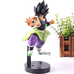 Wholesale Anime Dragon Ball Super Action Figure Broly ULTIMATE SOLDIERS Collection Model Toys cm