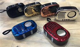 Radio a8 online shopping - OKCY A8 Outdoor Wireless Bluetooth Portable Retro Speaker Heavy Bass Mini Speakers Radio Design Free DHL Shipping