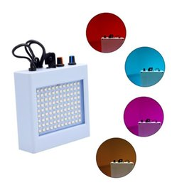 strobe light sound NZ - 108 LED Mixed Flashing Stage Lights Remote Sound Activated Disco Light for Festival Parties Lights Wedding KTV Strobe Lights