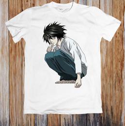 Manga Clothes Australia - Japanese Anime Manga Unisex T Shirt Style Round Style Tshirt Denim Clothes Camiseta T Shir