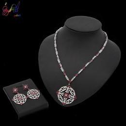 $enCountryForm.capitalKeyWord Australia - Yulaili Top Quality New Design Gold Jewelry Sets African Women's Pendant Necklace Earrings Luxury Elegant Bridal Wedding Jewelry