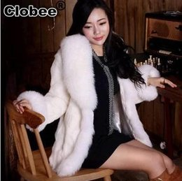 $enCountryForm.capitalKeyWord Australia - 2019 Winter Fall Noble Women Faux Fur Overcoat Sexy LuxuYR Faux Fox Fur Rex Rabbit Jacket Coat Promotion Brief Lady Coat YR8