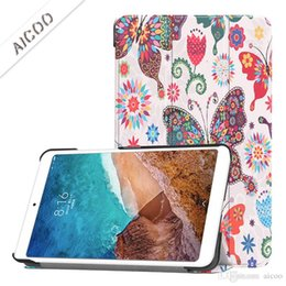 $enCountryForm.capitalKeyWord NZ - Magnetic Smart PU Leather Cover Back Solid and Colorful Painted Case For Xiaomi Mi pad 4 8.0 Folding Case With Auto Sleep Wake OppBag