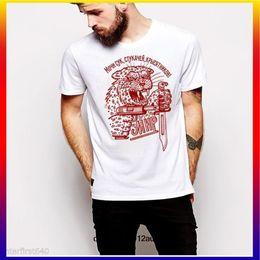 2f8161669 Mens tattoo shirts online shopping - Russian Prison Tattoo T shirt Mafia  Gangster Mens Round Neck