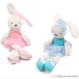 $enCountryForm.capitalKeyWord NZ - Cute Baby Soft Plush Toys Brinquedos Plush Rabbit Bunny Sleeping Mate Stuffed & Animals Baby Toys For Children