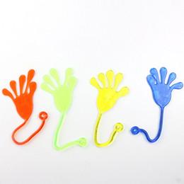 $enCountryForm.capitalKeyWord Australia - Squishy Novelty Middle Size Slime YOYO Sticky Hand Toys for Kids Party Supply Gift Sticky Jelly Stick Slap Squishy Hands Toy