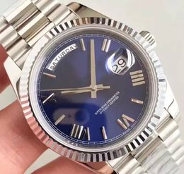Famous Luxury Men Watch Automatic Mechanical Australia - Luxury watch for men day date automatic watch high quality R41601 famous mechanical designer mens watches master montre wrist watch 3 color