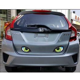 $enCountryForm.capitalKeyWord Australia - CAR Creative Eyes Terror Stickers Car Sticks Reflective Rearview Mirrors Side Window Rear Window Paste Decals