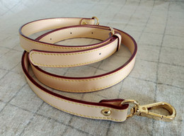 Luxury Bag Strap 1.8*127CM Adjustable Bag Accessories Gold Hardware Crossbody strap replacement Real Leather
