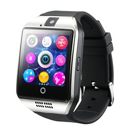 $enCountryForm.capitalKeyWord Australia - 2019 Q18 Smart Watch Bluetooth Smart watches for Android Cellphones Support SIM Card Camera Answer Call and Set up Various Language with Box