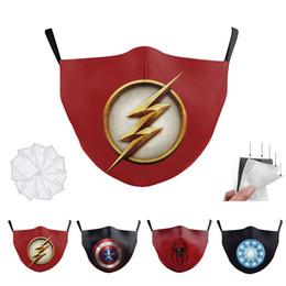 Großhandel Hot Captain America Maske Realistische Superheld Halloween Masken Maske DC Film Cosplay Props Spielzeug Maskerade für Erwachsene Männer