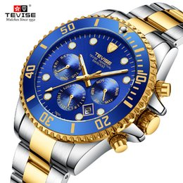 $enCountryForm.capitalKeyWord Australia - Tevise Automatic Watch Men Mechanical Watches Sport Luxuty Brand Waterproof Self Winding Wristwatches Relogio Masculino Gift Box J190705