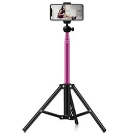 Professional camera stands online shopping - Professional Foldable Camera Tripod Holder Stand Screw Degree Fluid Head Tripod Stabilizer Aluminum With Phone Holder