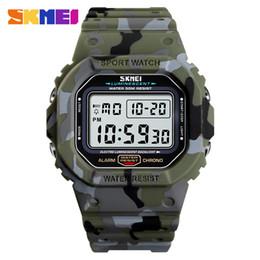 $enCountryForm.capitalKeyWord Australia - SKMEI Simple Sport Watch Men 50M Waterproof Outdoor Digital Wrist Watch Fashion Cowboy Alarm Clock Men 1471