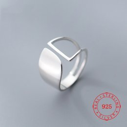 $enCountryForm.capitalKeyWord Australia - High Quality 100% 925 Sterling Silver Wide Design Finger Rings Rhodium Plated fine women jewelry manufacturer China