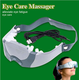 acupuncture eye massager NZ - New Mask Migraine adapter or Battery Electric Care Forehead Eye Massager tool relax you eye and brain massage eyepatch corrected eye sight