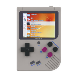 video game consoles md Australia - Video Game Console New BittBoy - Version3.5 - Retro Game Handheld Games Console Player Progress Save Load MicroSD card External T190915