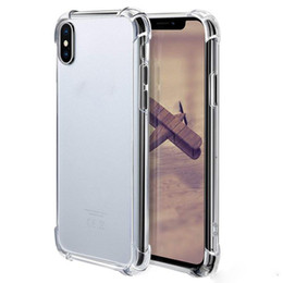 $enCountryForm.capitalKeyWord Australia - China wholesale soft TPU cell phone case transparent clear back cover for iphone X Xr Xs Xs Max Samsung S9