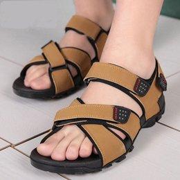 Charming 2017 Neue Casual Sandalen Männer Vietnamesische Schuhe Schwarz Und Braun Flache Schuhe Sommer Zapatos Plus Größe 37-45 Licht Strand # 166139