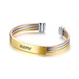 stainless steel letters for bracelets 2019 - 2019 Fashion Letter Grandmother Stainless Steel Bracelet for Women Silver Color Chain Bracelets Jewelry cheap stainless