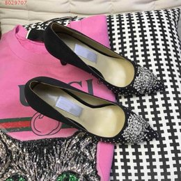 Glass Slippers Shoes NZ - Womens Glass slipper , fashion dress prom shoes , Women high heels single shoes ,With a full range of packaging