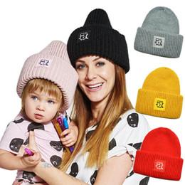 Hand Crochet Baby Beanies Australia - kids designer hat dinosaur Autumn Winter Kids Hats baby Knitted Beanie Hat boys Hand Knitted Caps Boys Caps baby Beanies Crochet Hats A3074