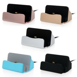 docking station galaxy note UK - Universal Micro Type C Dock Charging stand Cradle Charging Station for Samsung Galaxy s6 s4 s7 s8 s9 s10 note 8 9 10 htc android phone
