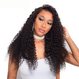 Queen Brazilian Deep Wave Hair UK - Lucky Queen Deep Wave Brazilian Hair Weave Bundles Natural Color Remy Human Hair Weaving 10-28inch 1 Piece Free Shipping