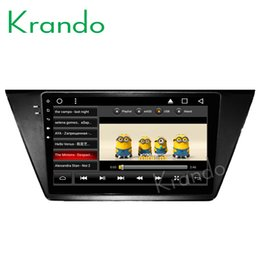 "Vw Stereos Android Australia - Krando Android 8.1 10.1"" Big Screen Full touch car dvd Multimedia system radio player for VW Touran 2015+ radio navigation gps wifi"