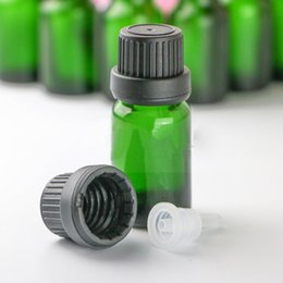 $enCountryForm.capitalKeyWord UK - USA UK Market Empty 10ml Green Glass Bottles Wholesale E liquid Glass Dropper Bottles 10 ml For Aromatherapy Cosmetic Free Shipping
