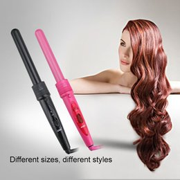 hair salon tools curling iron UK - 5 IN1Curly Hair Artifact Curling Iron Ceramic Hairdressing Set Change Tube Perm Curling Hair Tools Hair Curler Set