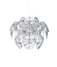 $enCountryForm.capitalKeyWord Australia - Clear Led E27 Modern D53 65cm Hope Pendant Lamps Acrylic Lampshade Pendant suspension Bedroom Lamp Fixtures