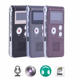 $enCountryForm.capitalKeyWord Australia - SHZONS Rechargeable 8GB Audio Sound Voice Recorder Dictaphone MP3 Player Recording with USB Charging Cable