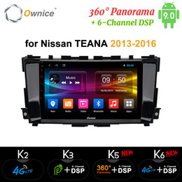 car dvd player for nissan Canada - Ownice Android 9.0 4G LTE Car DVD GPS stero Octa Core for Nissan Teana Altima 2013 - 2016
