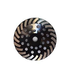 1 Piece 7 Inch D180mm 24 Segments Diamond Grinding Cup Wheel for Angle Grinder Diamond Grinding Disc M14 for Concrete and Terrazzo Floor on Sale