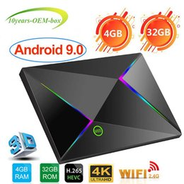 $enCountryForm.capitalKeyWord Australia - 1 PCS Android 9.0 TV Box 4GB Ram 32GB Rom Allwinner H6 Quadcore 2.4G Wifi Support 6K 3D 4K H.265 Google Player Store Media Player BOX