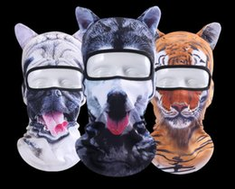 animal face masks Australia - 3D animal head, face, Gini, outdoor sunscreen, headgear mask, windproof and dust-proof riding mask Personalities Ventilation