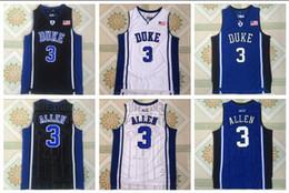 $enCountryForm.capitalKeyWord Australia - NCAA Duke 3 Grayson Allen White, Black And Blue Embroidered Basketball Jerseys