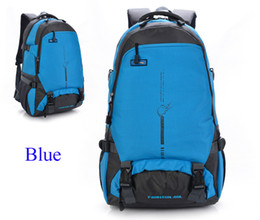 45l backpack 2019 - 10pcs 45L Backpack Light Casual Backpacks multifunctional Travel Outdoor Sports Bags Teenager Students Duffell Bag