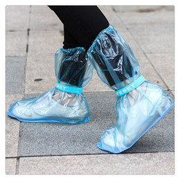 $enCountryForm.capitalKeyWord Australia - Portable Waterproof Anti-Slip Reusable Rain Shoe Covers Overshoes Rain Boots Cover Rain Gear Raincoats Accessories,Convenient Carrying