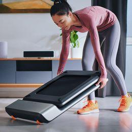 venda por atacado mijiaMijia Inteligente Folding Walking Pad antiderrapante Sports caminhada na esteira Máquina Manual Automático Modos exterior Ginásio Indoor electricl aptidão