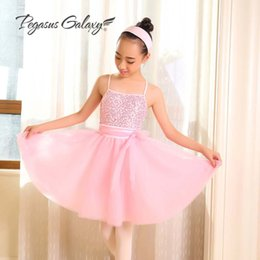 Girls ballet dance dress online shopping - Girls Fairy Ballet Dance Dress Long Tutu Skirt Children Ballet Clothes Ballerina Dress Kids Adult Professional Costumes