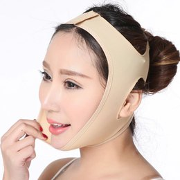 $enCountryForm.capitalKeyWord Australia - Facial Thin Face Mask Slimming Bandage Skin Care Belt Shape Lift Reduce Double Chin Face Mask Face Thining Band