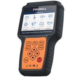 automotive scanner portuguese Australia - Automotive Diagnostic Scanner EPB SAS BMS DPF ABS SRS Oil Reset Tools NT650Elite