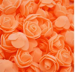 Female Accessories China NZ - 50Pcs lot Artificial Craft PE Foam Rose Flowers Wedding Party Accessories DIY Home Decor Handmade Flower Head Wreath Supplies 8