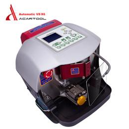 $enCountryForm.capitalKeyWord Australia - Automatic V8 X6 Key Cutting Machine Automatic X6 V2014 Car Key Cutting Machine V8 Auto Key Programmer DHL Free Shipping