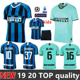 $enCountryForm.capitalKeyWord Canada - ICARDI LAUTARO SKRINIAR Inter 2019 2020 Milan soccer jersey GODIN BARELLA PERISIC NAINGGOLAN jerseys 19 20 football top kit shirts kids kit