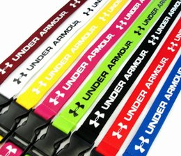 lanyard usb key NZ - 10pcs brand clothing for Neck Strap Lanyard Safety strap For Mobile Phone USB Holder ID Holder Keys detachable Clip Cell 9 colors can pick