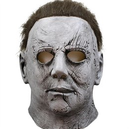 $enCountryForm.capitalKeyWord Australia - Movie horror character cosplay Michael Myers Halloween mask into the hearts of the horrifying latex mask costumes